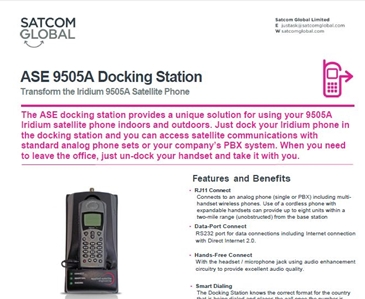 ASE 9505A Docking Station PS
